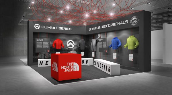 The North Face Booth